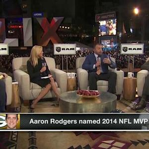 Green Bay Packers quarterback Aaron Rodgers wins NFL Most Valuable Player award