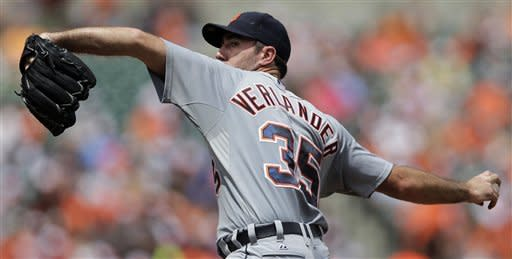 Verlander shines as Tigers blank Orioles 4-0
