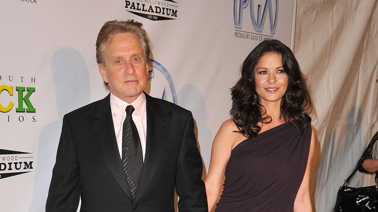 Producers Guild Awards 2009 Michael Douglas Catherine Zeta Jones