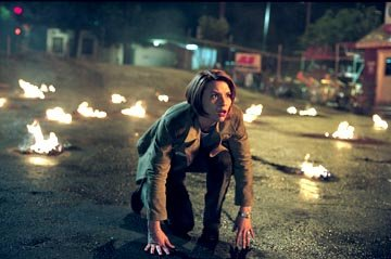 Claire Danes in Warner Brothers' Terminator 3: Rise of the Machines