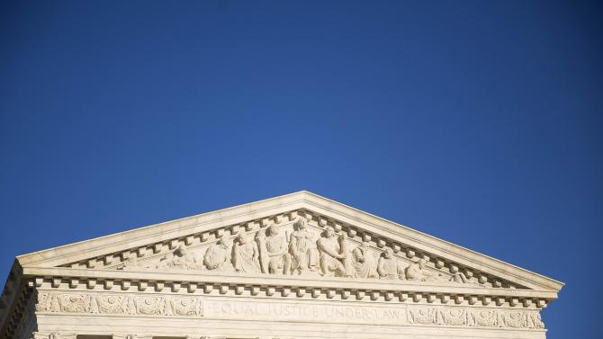 A general view of the Supreme Court in Washington