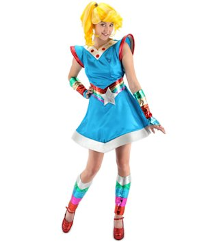 Rainbow Brite Costume