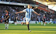 Jordan Rhodes has been in sparkling form for Huddersfield this season