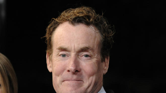 "FILE - This Dec. 9, 2008 file photo shows actor John C. McGinley at the premiere of the film ""Gran Turino"" at Warner Bros. Studios in Burbank, Calif. McGinley will join the cast of David Mamet's play ""Glengarry Glen Ross,"" portraying Dave Moss. The play will begin previews on Tuesday, Oct. 16 and an official opening date is set for Sunday, Nov. 11 at the Gerald Schoenfeld Theatre in New York. (AP Photo/Chris Pizzello, file)"