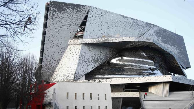 "File photo shows an exterior general view of the new Paris Philharmonic hall ""Philharmonie de Paris"" by French architect Jean Nouvel before its inauguration"