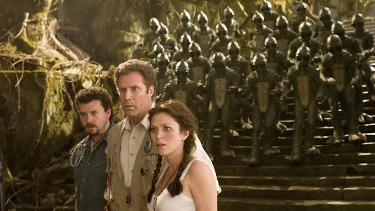 Danny R. McBride Will Ferrell Anna Friel Land of the Lost Production Stills Universal 2009
