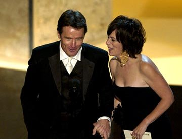 Bryan Cranston and Jane Kaczmarek 55th Annual Emmy Awards - 9/21/2003