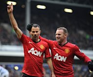 Wayne Rooney (right) congratulates Ryan Gibbs after he scores against QPR at Loftus Road on Monday. Manchester United announced on Thursday that they will begin their 2013 pre-season tour in Thailand