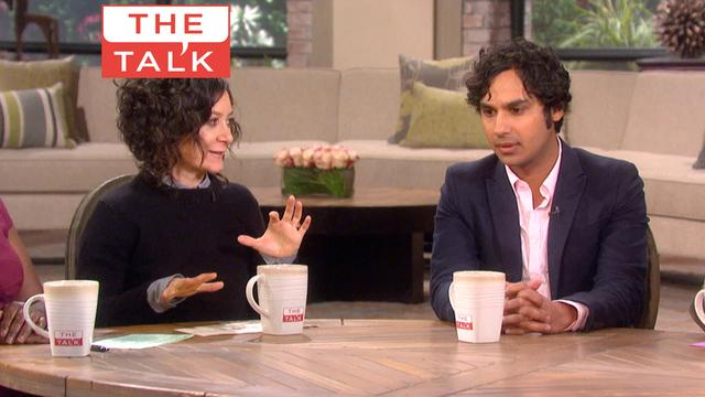 The Talk - Kunal Nayyar Talks 'Big Bang' Love Life