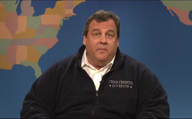 The One Where Chris Christie Showed Up