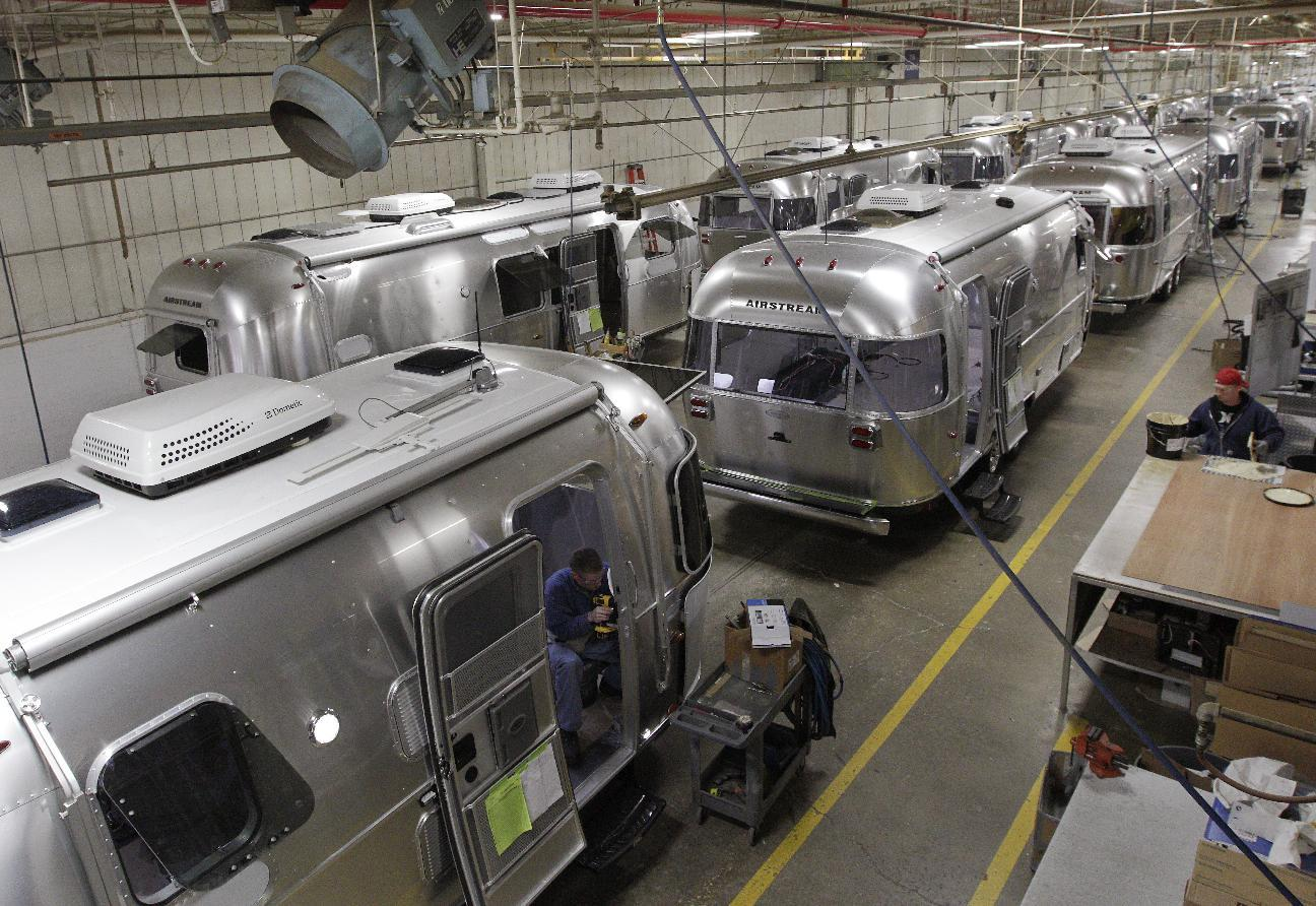 Flying high: Airstream can't keep up with demand
