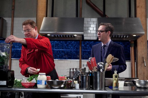 Robert Wuhl on Chopped Tournament of Stars