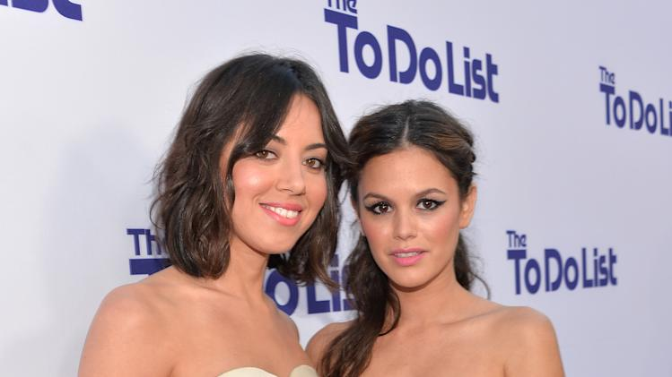"Premiere Of CBS Films' ""The To Do List"" - Red Carpet"