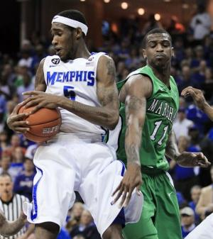 Memphis downs Marshall 83-57 for C-USA title