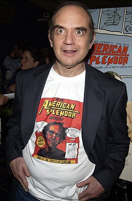Harvey Pekar at the New York premiere of Fine Line's American Splendor