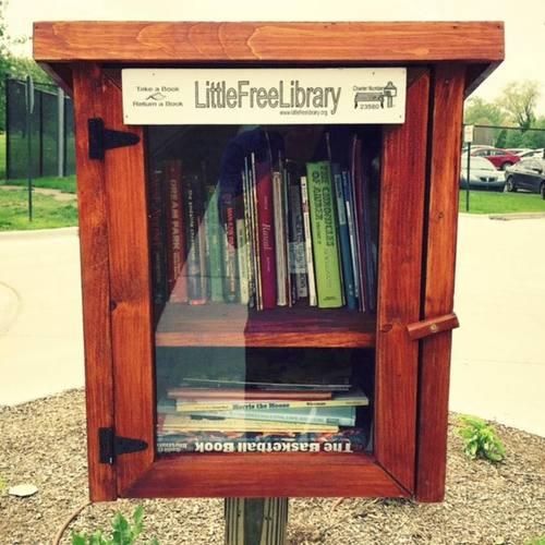 """Higher Learning: Little Free Library Displays Artist-Designed """"Branches"""""""