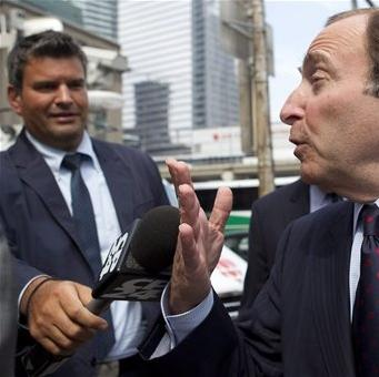 Bettman says 'wide gap' remains in NHL labor talks The Associated Press