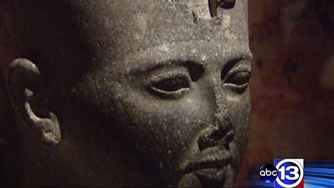 HMNS Hall of Ancient Egypt exhibit now open