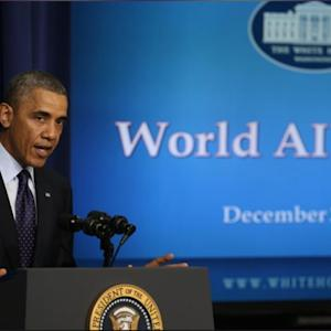 Obama Announces Funding For AIDS Research, Prevention