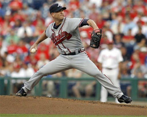 Uggla, Bourn lead Braves to 12-6 win over Phillies