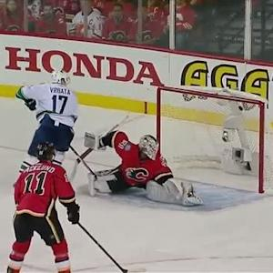 Daniel Sedin and Vrbata link up for a PPG