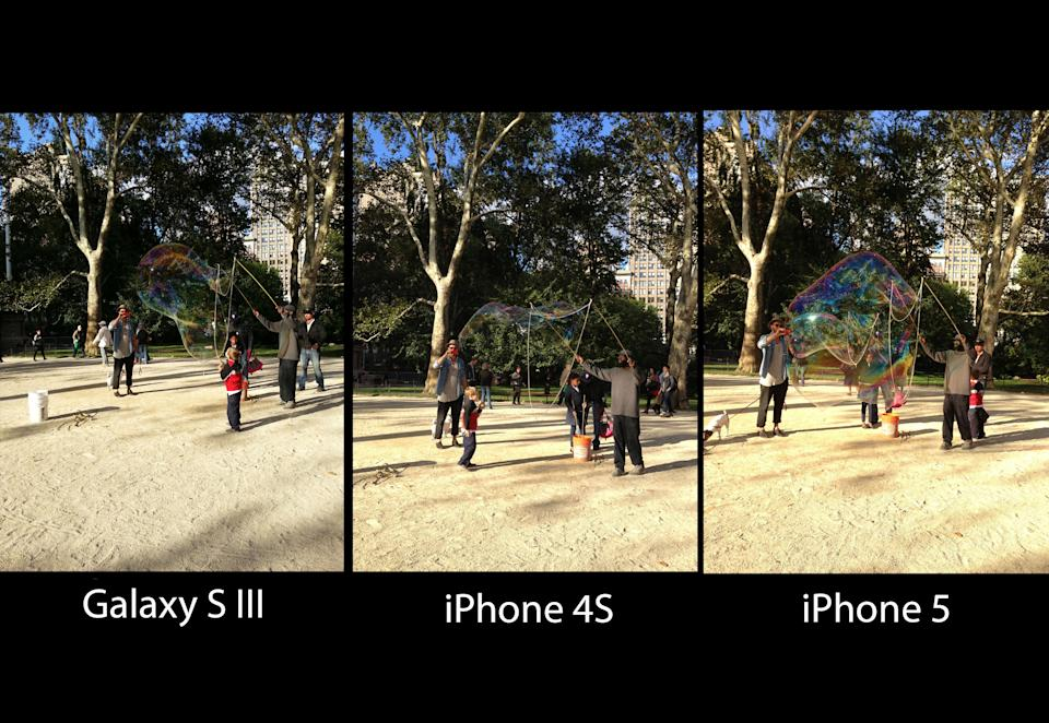 Smartphone Camera Shootout: iPhone 5 vs. Galaxy SIII vs. iPhone 4S