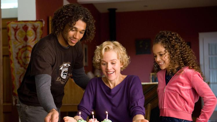 Corbin Bleu Penelope Ann Miller Madison Pettis Free Style Production Stills Samuel Goldwyn 2009