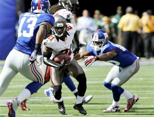 As Eli Manning goes, so go the Giants, beat Bucs