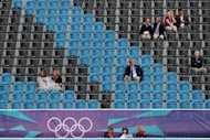 Empty seats at the London 2012 Olympic Games