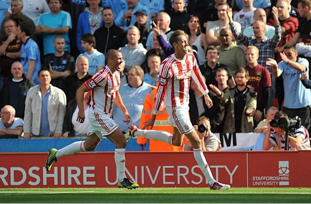 Stoke Peter Crouch is determined to get another chance with England