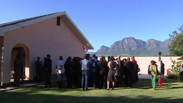 Video: ANC leaders visit prison, in tribute to Mandela