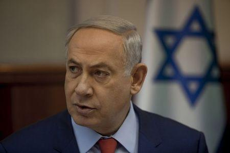 Israel's Prime Minister Netanyahu attends meeting in Jerusalem
