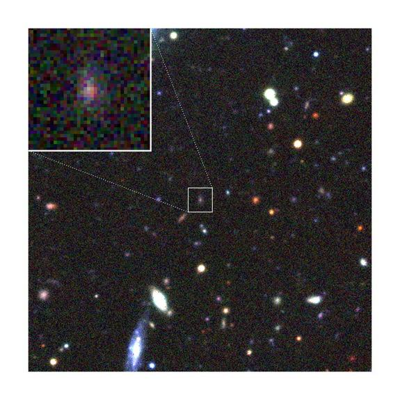Mystery Solved! Super-Bright Supernova Was Magnified by Cosmic Lens