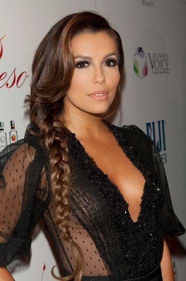 Side Braid - Eva Longoria