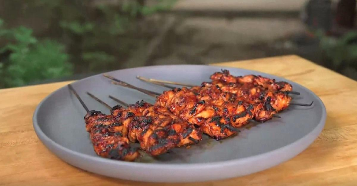 BA Summer Grilling Manual: Chicken Sambal Skewers