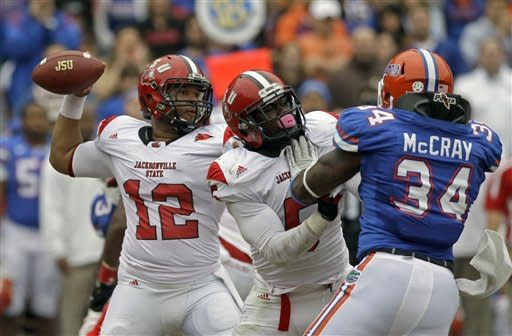Gators shut out FCS Jacksonville State 23-0