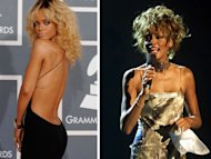 Rihanna corre con ventaja para ser Whitney Houston