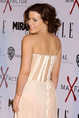Kate Beckinsale at the Hollywood premiere of Miramax Films' The Aviator