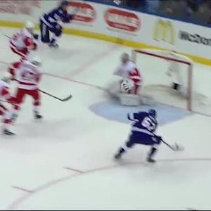 Filppula finds Sustr for pretty goal on Mrazek