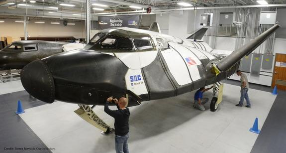Private Dream Chaser Space Plane Poised for New Flight Tests in 2016