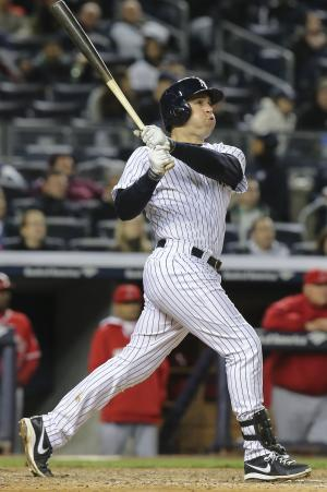 Teixeira, Ellsbury help Yankees edge Angels 3-2