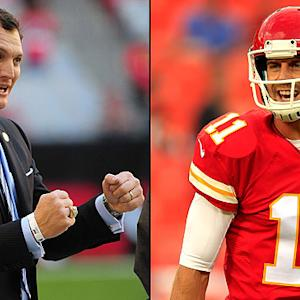 John Lynch claims Alex Smith is 'up there' with Peyton Manning and Drew Brees