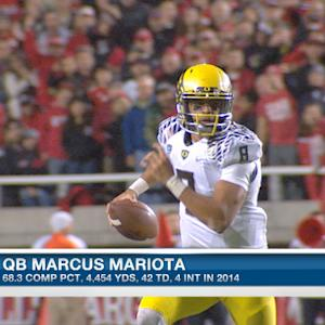Should San Diego Chargers consider trading quarterback Philip Rivers to get University of Oregon quarterback Marcus Mariota?
