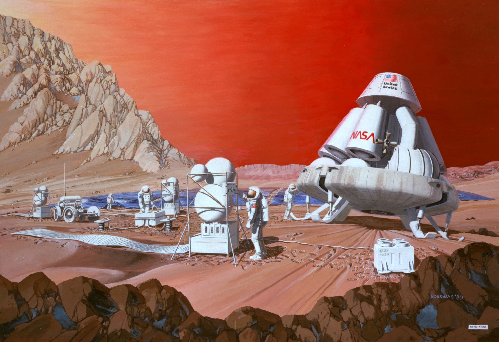 The author of 'The Martian' doesn't think there's life on Mars
