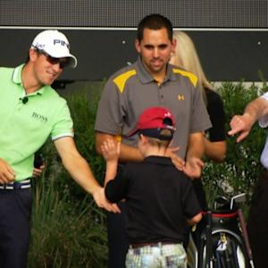 The First Tee and young stars on the PGA TOUR