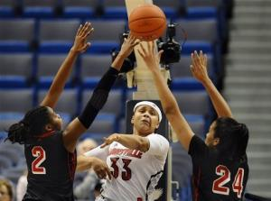 No. 13 Louisville women beat St. John's 62-55