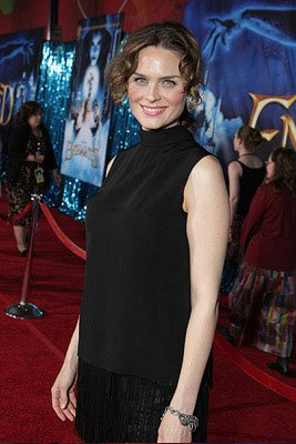 Emily Deschanel at the Los Angeles premiere of Walt Disney Pictures' Enchanted