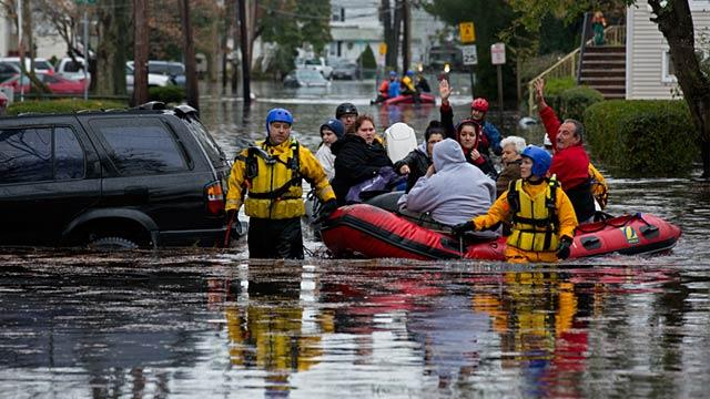 Grim Reality for Flooded NJ Town