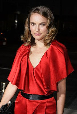 Natalie Portman at the Los Angeles premiere of Fox Searchlight's The Darjeeling Limited