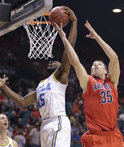 UCLA rallies past No. 18 Arizona 66-64 at Pac-12